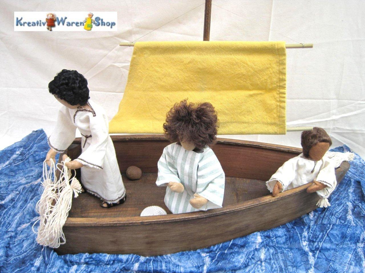 biblische erz hlfiguren kaufen fischerboot mit besatzung. Black Bedroom Furniture Sets. Home Design Ideas